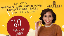 Mercedes Bakery SM Uptown and Downtown Anniversary Sale FI