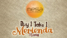 Mesa Buy 1 Take 1 Merienda Items FI
