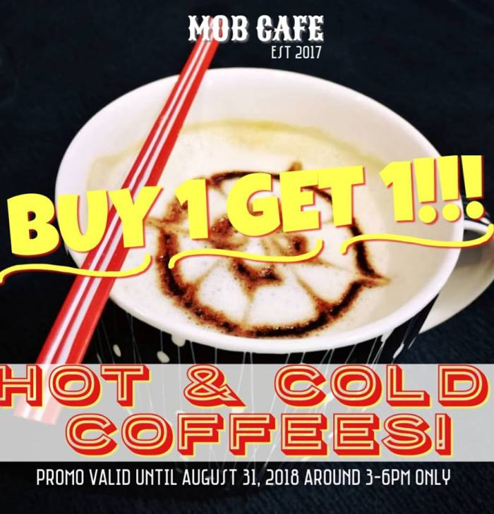 Mob Cafe Buy 1 Take 1