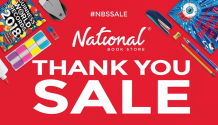 National BookStore Thank You Sale FI