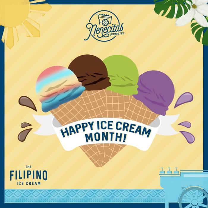 Nenecitas Sorbetes Ice Cream Month Promo