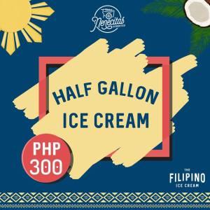 Nenecitas Sorbetes Ice Cream Month Promo half galon ice cream