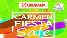 Ororama 4-day Carmen Fiesta Sale FI
