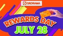 ororama rewards day FI