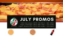 Pizzarella July Promos FI