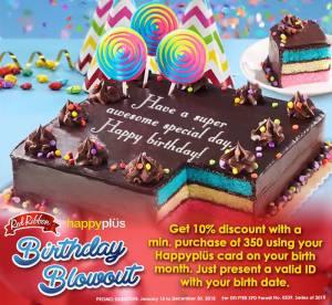 redRibbon Birthday Blowout