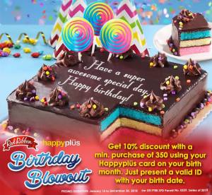 redRibbon Birthday Blowout