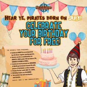 Seven Seas July Celebrants