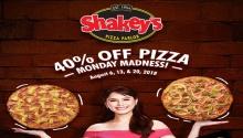 Shakey's Monday Madness August 2018 FI