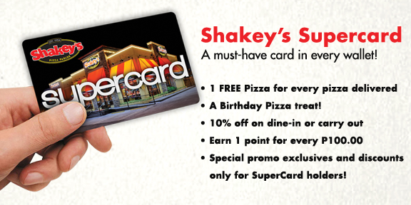 Shakey's SuperCard