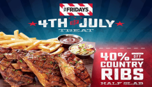 TGIFriday 4th of July Treat FI