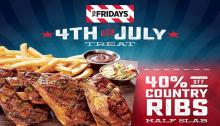 TGIFriday 4th of July Treat FI
