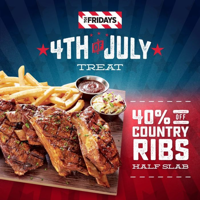 TGIFriday 4th of July Treat