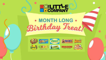 The Little Company Inc Month Long Birthday Treat FI