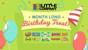 The Little Company Inc Month Long Birthday Treat FI
