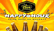 The Hive Food Park Happy Hour FI