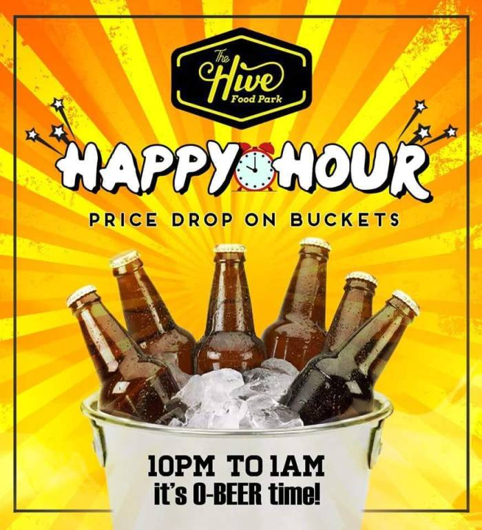 The Hive Food Park Happy Hour