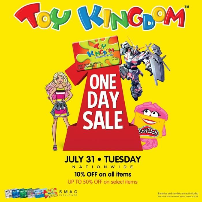 Toy Kingdom 1 Day Sale