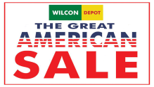 Wilcon Depot the Great American Sale FI