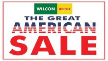 Wilcon Depot the Great American Sale FI