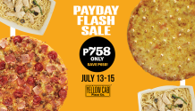 yellow cab july 13 to 15 payday flash sale FI