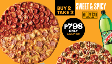 Yellow Cab Buy 2 Take 2 sweet and spicy FI