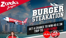 Zark's Burger Steakation Raffle Promo and FREE Burger Steak FI