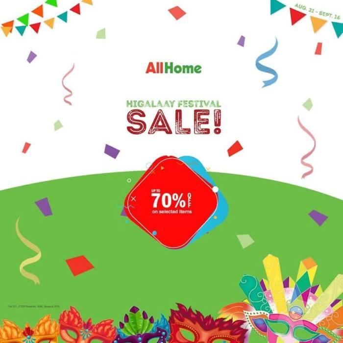 All Home Higalaay Festival Sale