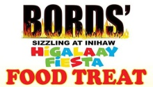 Bords Sizzling at Inihaw Higalaay Fiesta Food Treat FI