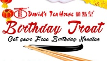 David's tea house birthday treat FI
