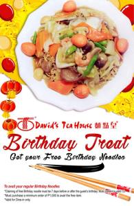 david's tea house birthday treat