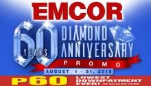 EMCOR 60 Diamond Anniversary Promo FI