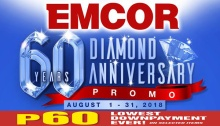 EMCOR 60 Diamond Anniversary Promo FI