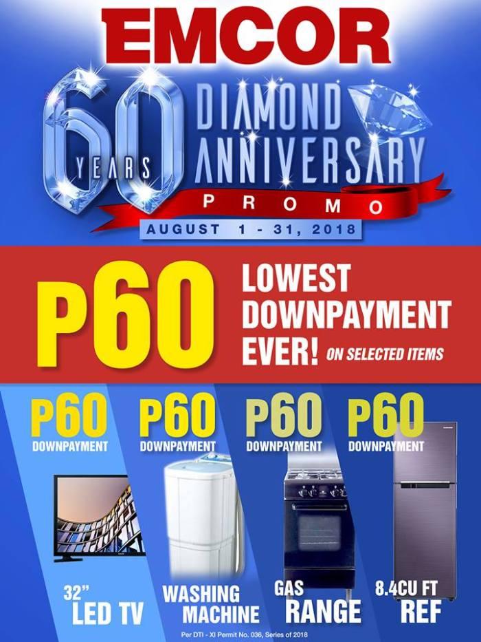 EMCOR 60 Diamond Anniversary Promo