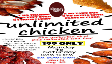 Hungry Plate SM Downtown Premier Unlimited Chicken FI