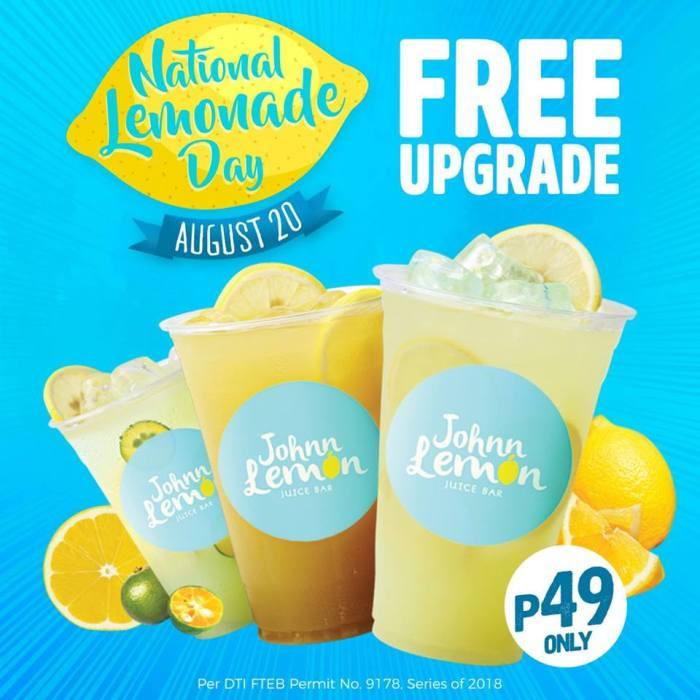 Johnn Lemon National Lemonade Day