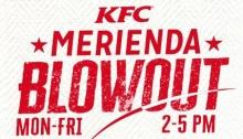 KFC Merienda Blowout FI