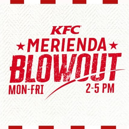 KFC Merienda Blowout