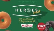 krispy kreme heroes treat FI