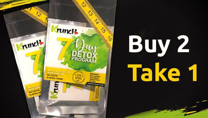 Krunch Buy 2 Take 1 Promo for 7 Day Detox FI