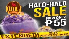 Kuya J Restaurant Halo-Halo Sale extended FI