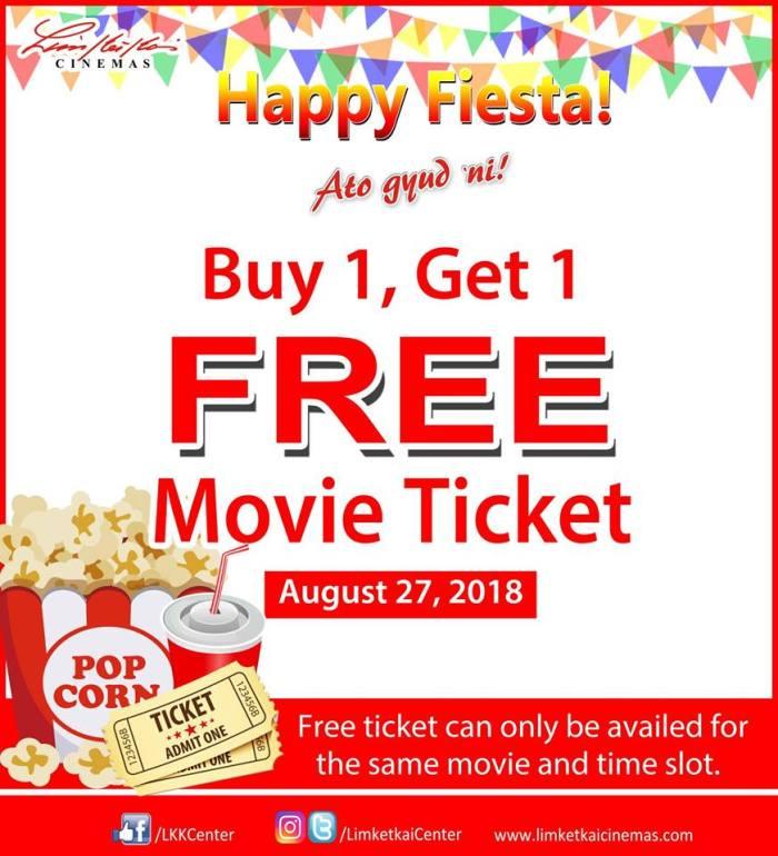 limketkai buy 1 take 1 movie ticket