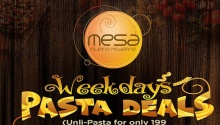 Mesa Weekdays Pasta Deals FI