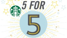 My Starbucks Rewards Five for Five Promo FI