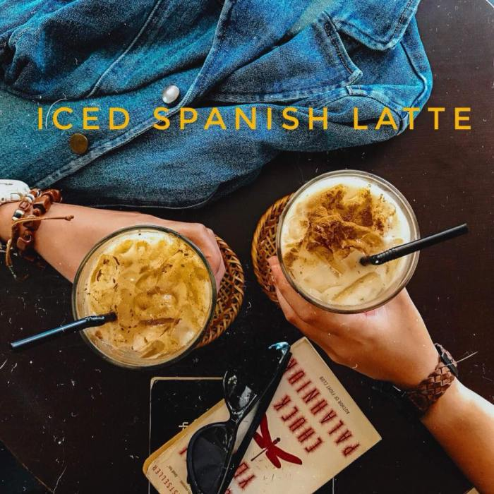 New Iced Spanish Latte Promo at Mai Crafts Boutique Cafe