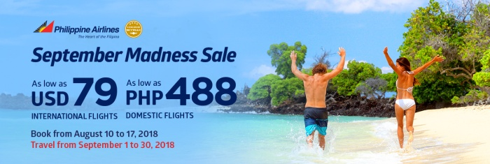 PAL september madness sale website