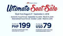 PAL ultimate seat sale FI