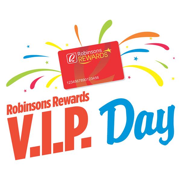 Robinsons Rewards VIP Day