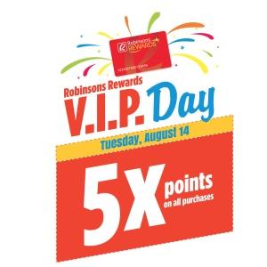 Robinson's Rewards VIP Day at Robinson's Supermarket