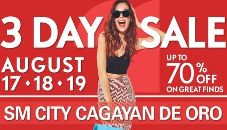 SM Uptown 3-Day Sale FI